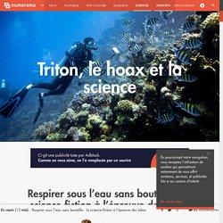Respirer sous l'eau sans bouteille: la science-fiction à l'épreuve des labos - Sciences
