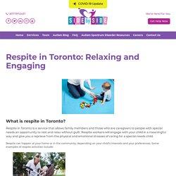 Respite in Toronto