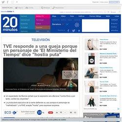 """TVE responde a una queja porque un personaje de 'El Ministerio del Tiempo' dice """"hostia puta"""""""