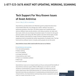1-877-523-3678 Avast not updating, working, scanning, responding, installing, uninstalling, crashing, turning off Support