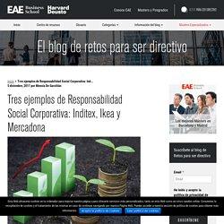 Tres ejemplos de Responsabilidad Social Corporativa: Inditex, Ikea y Mercadona