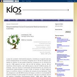 Kíos Debate: Responsabilidad Social Empresarial Medioambiental en Colombia