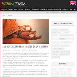 LAS DOCE RESPONSABILIDADES DE LA MAESTRIA - Barcelona Alternativa Español