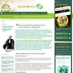 Responsabilité juridique des associations collégiales - Association Loi de 1901 et collectif,