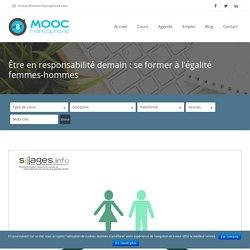 MOOC PERMANENT - Être en responsabilité demain : se former à l'égalité femmes-hommes