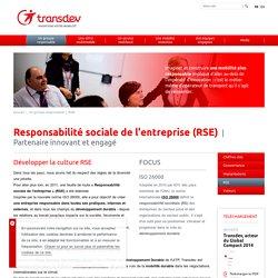 6- Responsabilité sociale de l'entreprise : Transdev