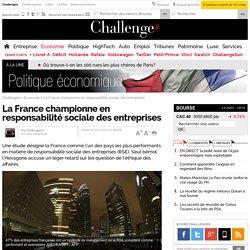 La France championne en responsabilité sociale des entreprises