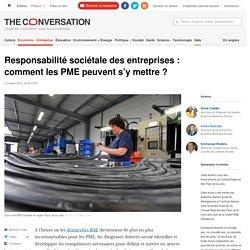 Responsabilité sociétale des entreprises : comment les PME peuvent s'y mettre ?