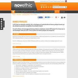 """7- Les """"bonnes pratiques"""" de la Responsabilité Sociale des Entreprises"""