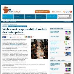 Web 2.0 et responsabilité sociale des entreprises