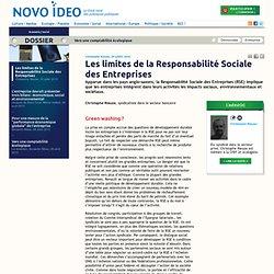 Les limites de la Responsabilité Sociale des Entreprises