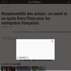 Responsabilité des achats : un avant et un après Rana Plaza pour les entreprises françaises, Le Cercle