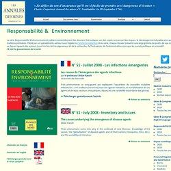 LES ANNALES DES MINES - JUILLET 2008 - Les causes de l'émergence des agents infectieux (D. Raoult)