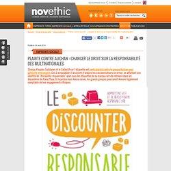 Plainte contre Auchan : changer le droit sur la responsabilité des multinationales