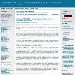 Autour de la Responsabilité Globale… » Archives du Blog » Fabrique SPINOZA – Etude et propositions pour de nouveaux indicateurs