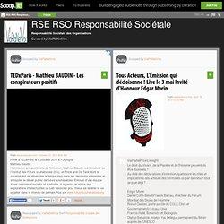 RSE RSO Responsabilité Sociétale