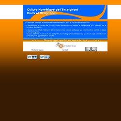 Responsabilités et obligations de l'enseignant - Références 2009
