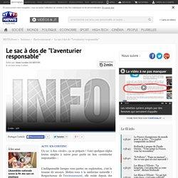 """BIEN ETRE - TOURISME RESPONSABLE : Le sac à dos de """"l'aventurier responsable"""" - Sciences"""