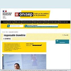responsable biométrie - Onisep