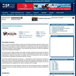 CDI : Responsable de boutiques - HOALEN
