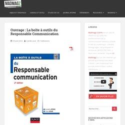 Ouvrage : La boîte à outils du Responsable Communication