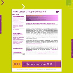 NewsLetter Groupe Groupama » Sylvie Toudic – Responsable communication employeur groupe