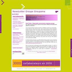 NewsLetter Groupe Groupama » Sylvie Toudic – Responsable communication employeur groupe