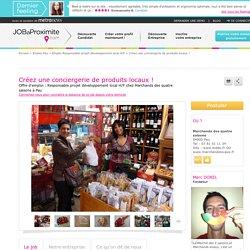 Emploi Responsable projet développement local Pau - Marchands des quatre saisons Freelance / indépendant