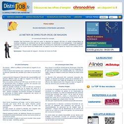 Fiche Métier Responsable / Directrice / Directeur de magasin