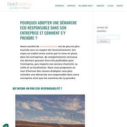 Démarche eco-responsable dans l'entreprise – Mag' Trait Simple