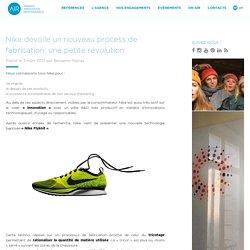 Nike dévoile un nouveau process de fabrication: une petite révolution