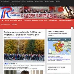 Qui est responsable de l'afflux de migrants ? Débat en Allemagne