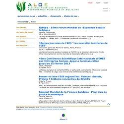 ALOE - Alliance pour une Economie Responsable Plurielle et Solidaire