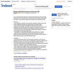 Emploi Responsable Recrutement et Carrière H/F - Cofidis - Villeneuve-d'Ascq (59)