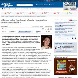 Le métier de Responsable hygiène et sécurité : Coralie Costa, associée au sein du cabinet People Search