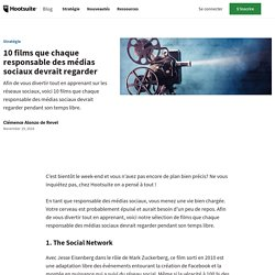 10 films que chaque responsable des médias sociaux devrait regarder
