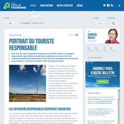 Portrait du touriste responsable - Veilletourisme.ca