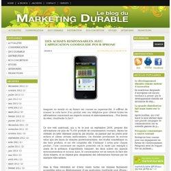 Des achats responsables avec l'application GoodGuide pour iPhone