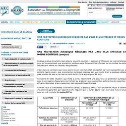 ARC UNARC - Association des responsables de copropriétés