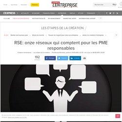 RSE: onze réseaux qui comptent pour les PME responsables