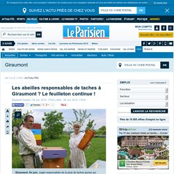 Les abeilles responsables de taches à Giraumont ? Le feuilleton continue !