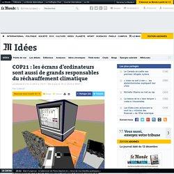 COP21: les écrans d'ordinateurs sont aussi de grands responsables du réchauffement climatique