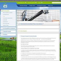Economie d'eau à la maison, économie d'eau potable / Eco citoyens