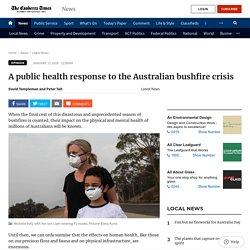 A public health response to the Australian bushfire crisis