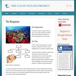 The Response » THE CLEAN OCEANS PROJECT