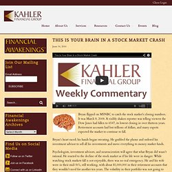 Rick Kahler: your brain's response to financial stress