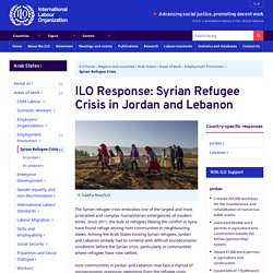 Response: Syrian Refugee Crisis in Jordan and Lebanon (Arab States)