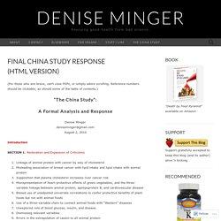 Final China Study Response (HTML Version)