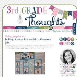 Building Student Responsibility: Classroom Jobs