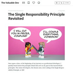 The Single Responsibility Principle Revisited